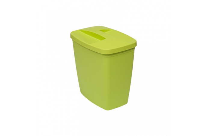 Drina - Kutija za prašak sa poklopcem - zeleni - 9 L - 10311