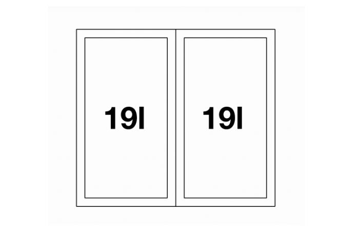Sistem za otpad - Blanco Select 50 2 - 2x19lit. - (518722)