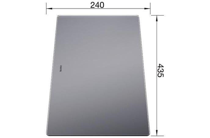 Blanco - Daska za rezanje - Staklena - 435x240 mm - 227697