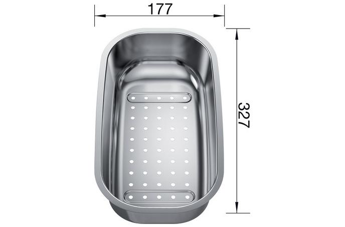 Blanco - Višenamenska posudica za sudopere - Inox - 208195