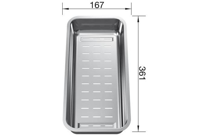 Blanco - Višenamenska posudica za sudopere - Inox - 223077