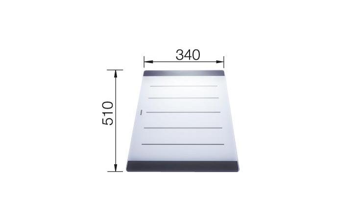 Blanco - Daska za rezanje - Staklena - 510x340mm - 224975