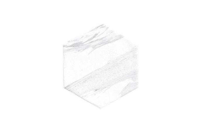 Pločica Dorset white hexagon 20x24 cm 0,915/kut podno-zidna (25 kom)