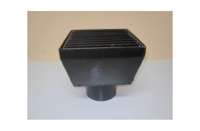 Metalni taložnik ø100  - vertikalni