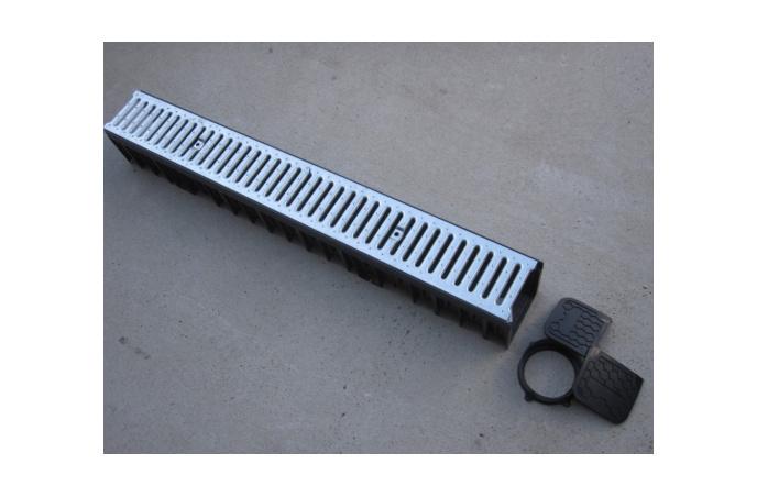 Odvodni kanal za kišnicu - 1000x90x130