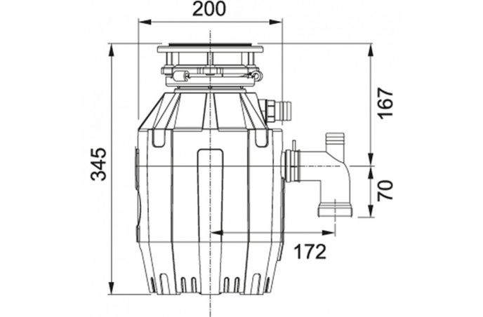 Drobilica otpada Turbo Plus TE- 50  (134.0500.617)